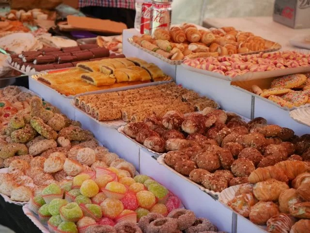 Italian pastries and sweets