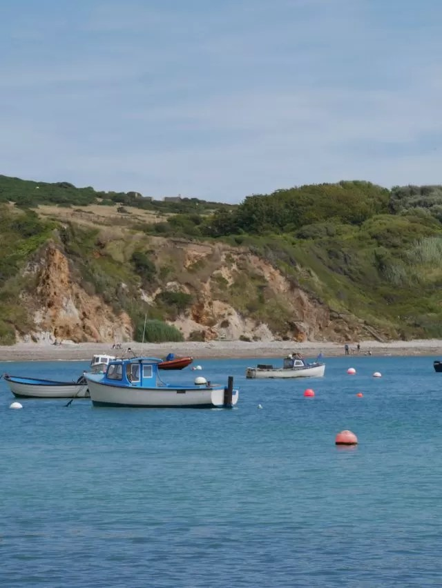Lulworth Cove boats