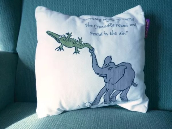 Roald Dahl House of Fraser cushions