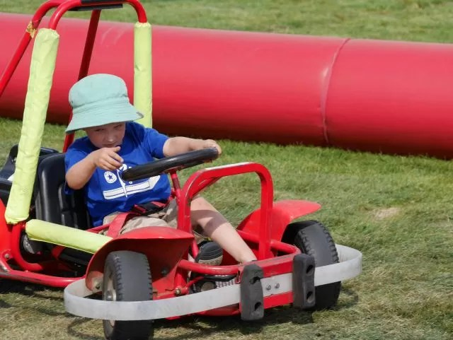 Go karts at brailes show