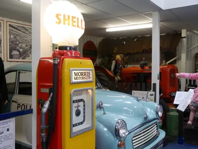 Shell Morris Motors exhibition