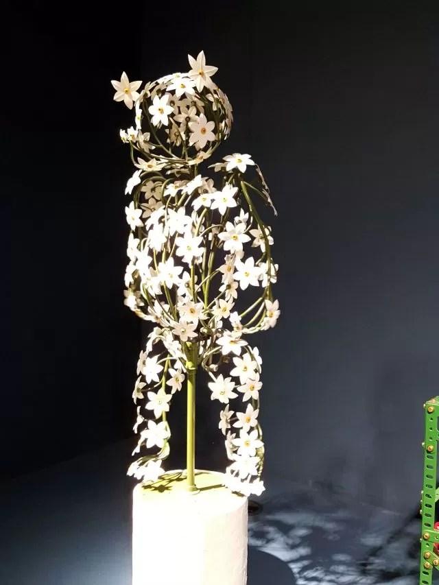 Mechanical flower bear - MAD Museum