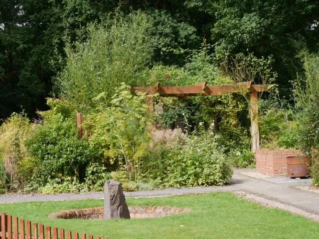 sensory garden at Avoncroft Museum