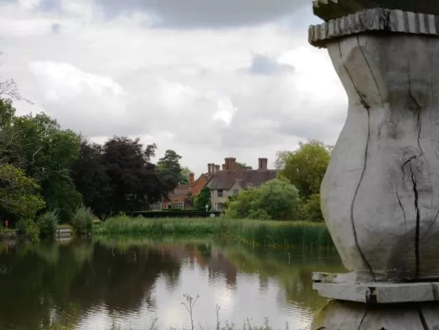 the lake at Packwood House