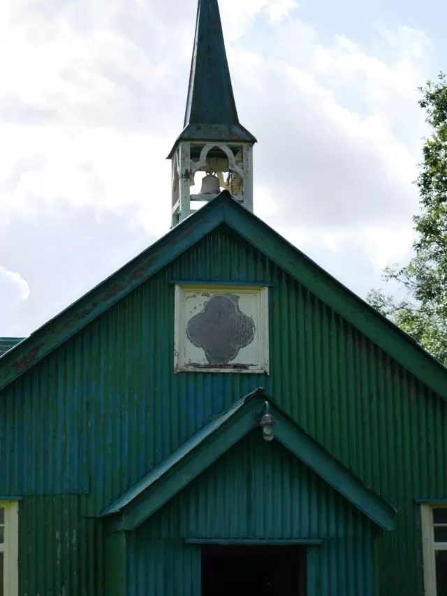 tin church at Avoncroft