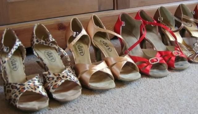 Back to modern jive - dancing shoes