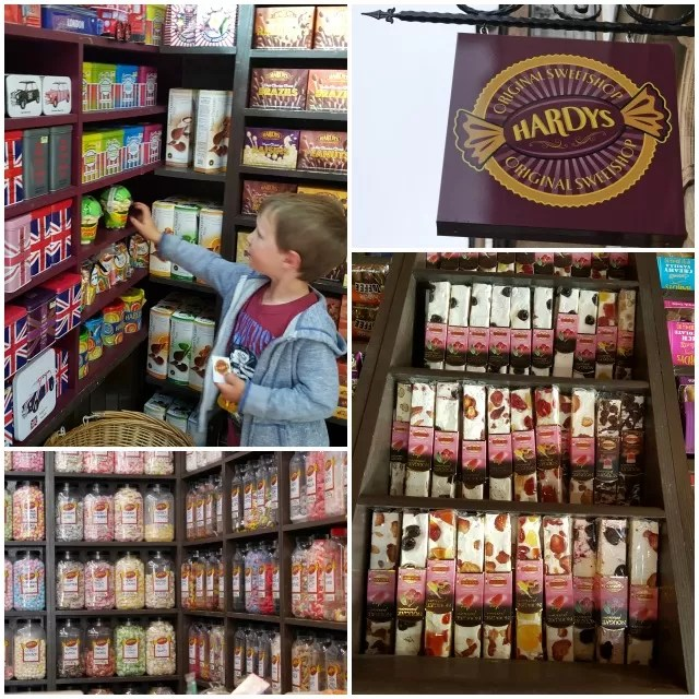 Hardys sweet shop Oxford