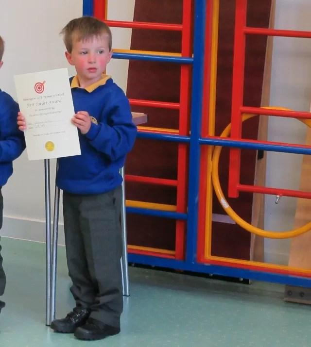first target certificate