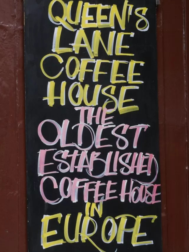 queens lane coffee house