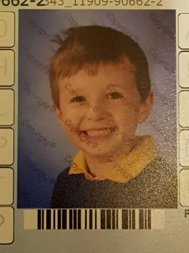 first school photo