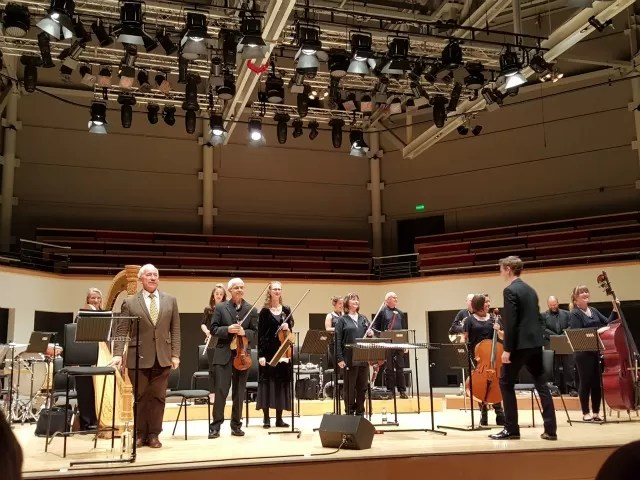 City of London Sinfonia at Warwick Arts Centre with Simon Callow