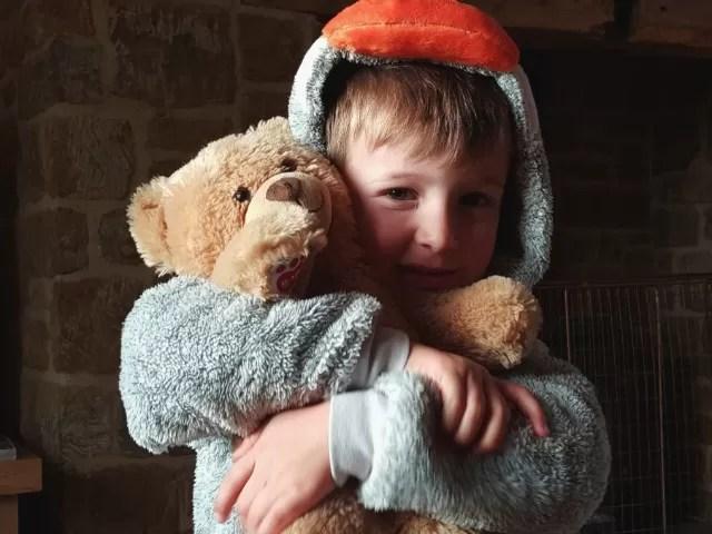 Ready for Children in Need in penguin onesie Living Arrows - Bubbablueandme