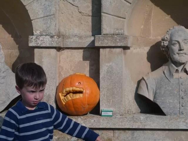pumpkin at Stowe