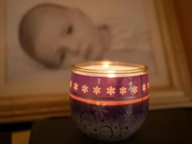 Christmas Glade candle