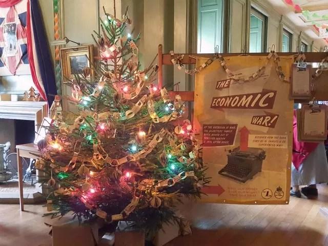 Upton house christmas tree