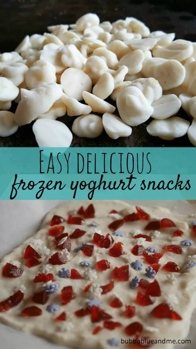 easy frozen yoghurt treat recipes you can make with the kids - Bubbablue and me