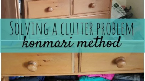 The Konmari method – solving a clutter and organisation problem