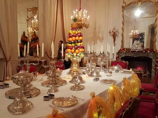 fruit room at Waddsdon Manor