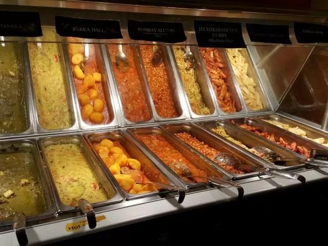 vegetarian options at Wa Curry