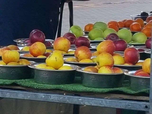 fruit on the market stall