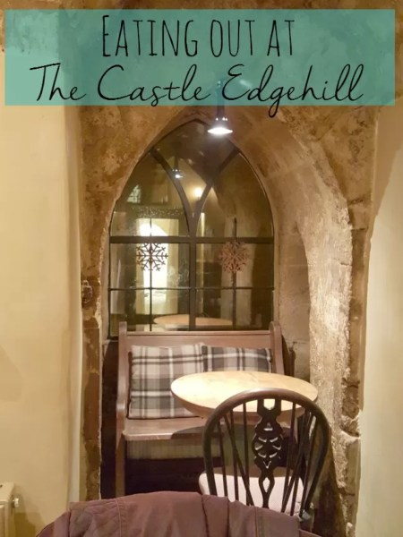 Eating out at The Castle pub, Edgehill - Bubbablue and me