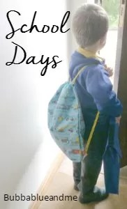 School Days - Bubbablue and me
