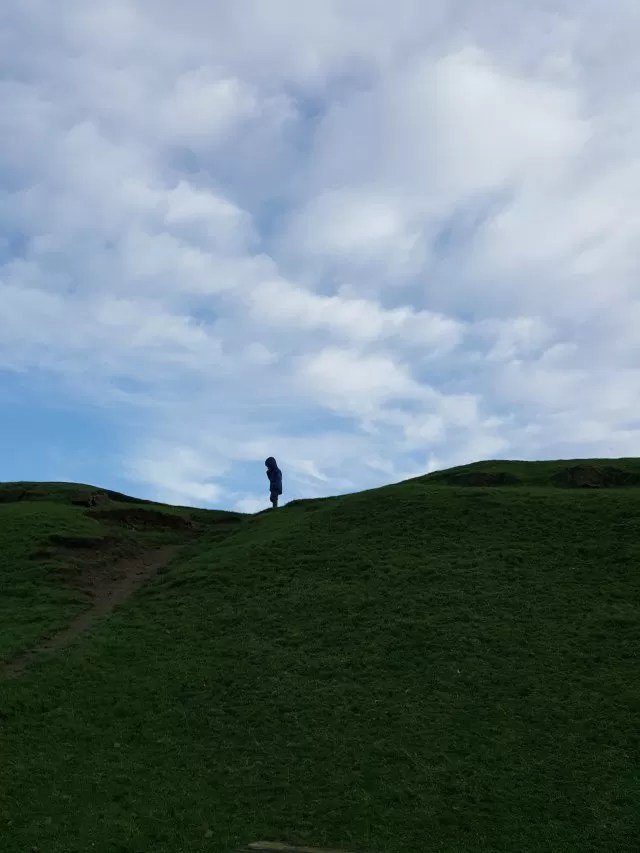 atop the ridge at Burton Dassett country park