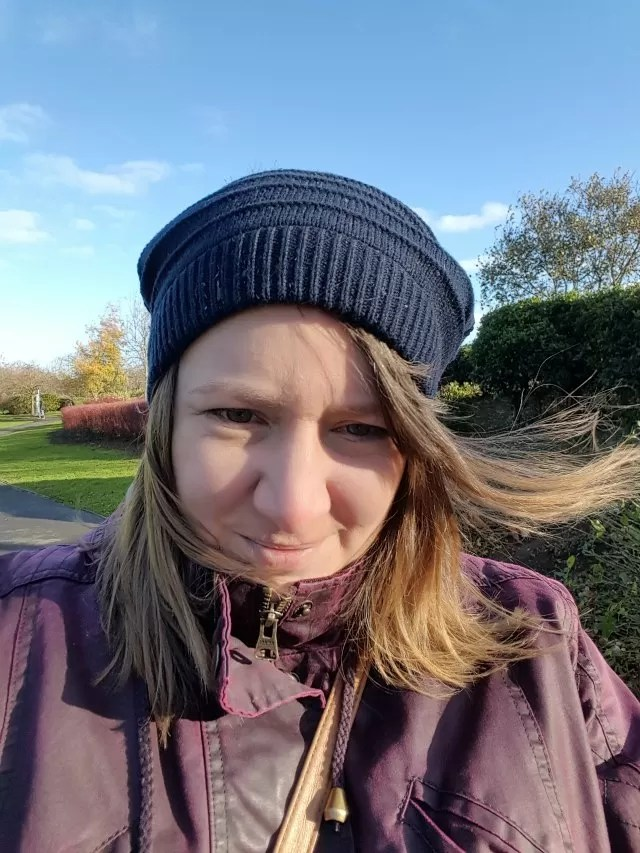 chilly wind in the park