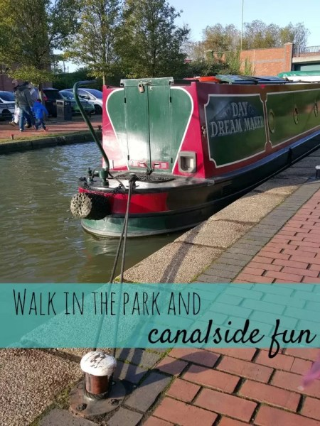 walk in the park and canalside fun - Bubbablue and me