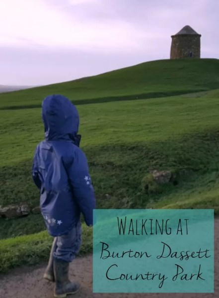 walking at Burton Dassett Country Park - Bubbablue and me