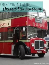 vintage buses oxford museum