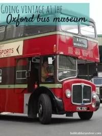 vintage buses oxford museum