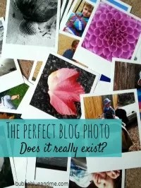 the perfect blog photo