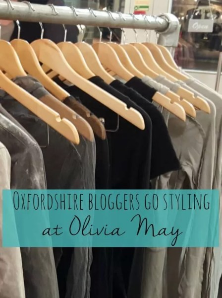 oxfordshire bloggers go styling at Olivia May Oxford