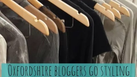 Oxfordshire bloggers go styling at Olivia May with LisaB Styling