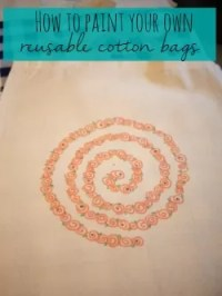 make your own reusable bags