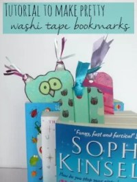washi tape bookmark tutorial