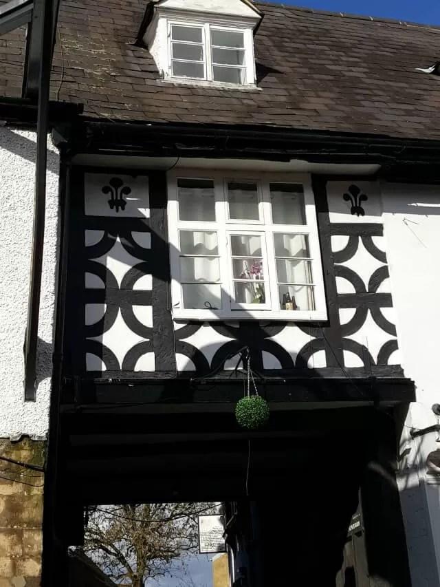 tudor style archway in Banbury