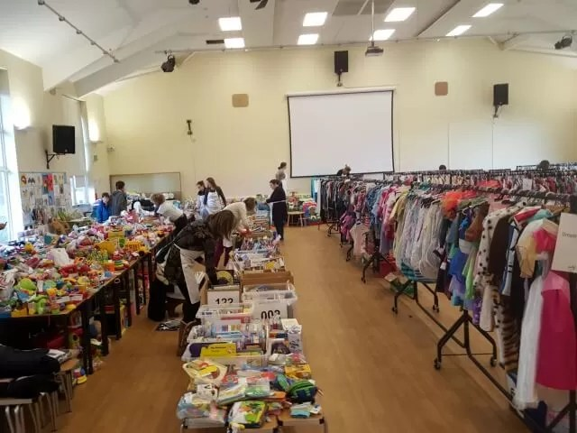 Banbury NCT nearly new sale ready for buyers