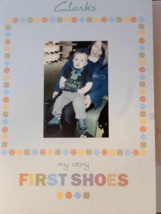 Feet - My first shoes