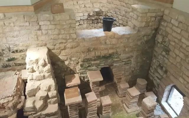 Roman baths at Chedworth