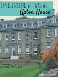 Upton house war years