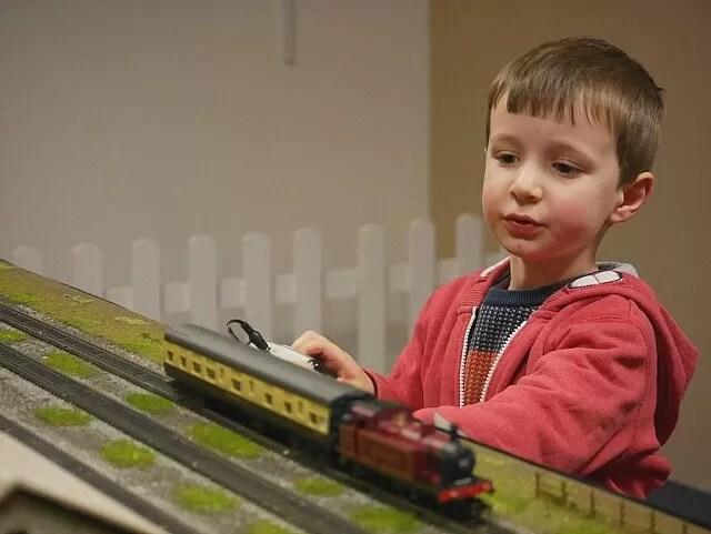 driving model trains