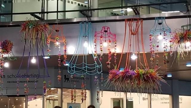 fashion college birmingham installation