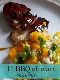 11 bbq chicken dishes