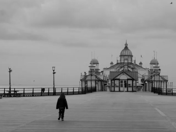 Eastbourne Pier black and white My Sunday Photo