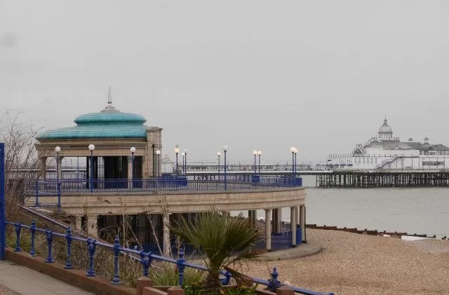 Eastbourne bandstand and pier