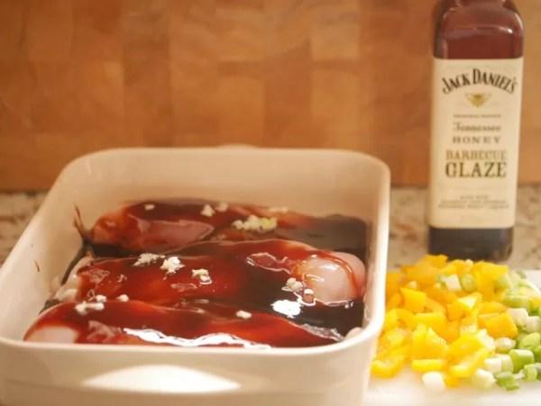 Jack daniel's tennessee honey barbecue glaze chicken