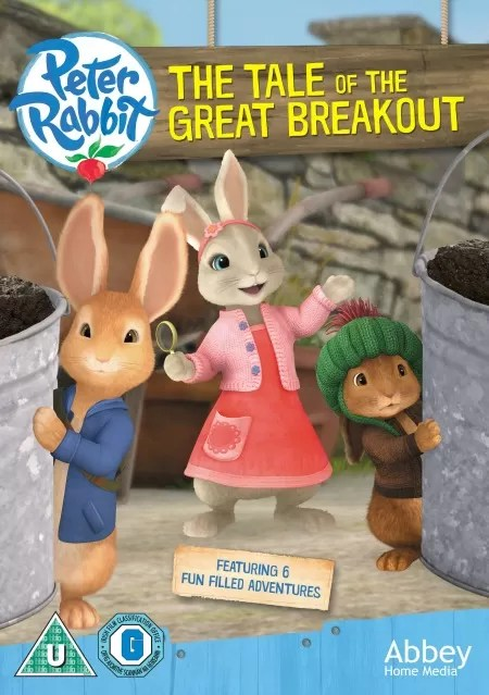 Peter Rabbit the tale of the great breakout giveaway