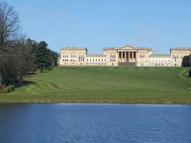 Stowe Gardens and house